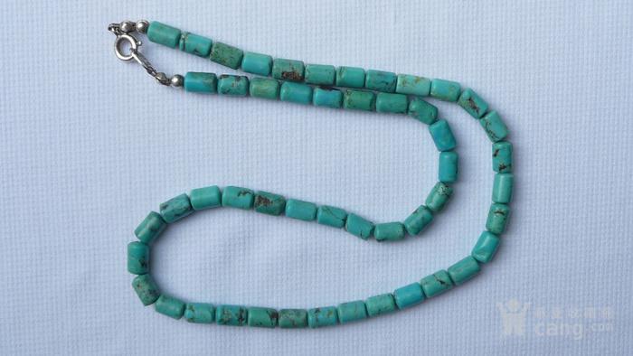 绿松石项链天然