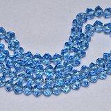 老蓝色水晶项链