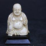 珍贵材质雕弥勒摆件(58)