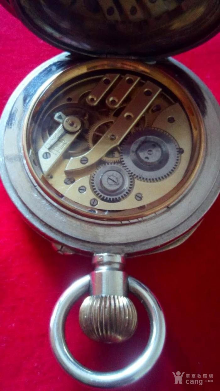 大号白铜日月星怀錶20世纪初图3