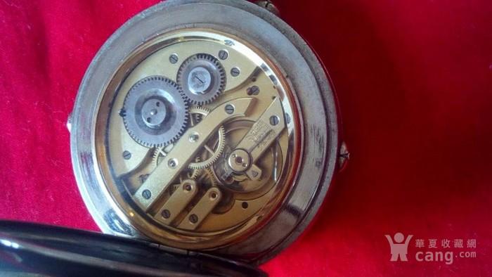大号白铜日月星怀錶20世纪初图4