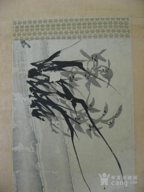 【清】台湾谢颖苏(谢�g樵)水墨立轴图2