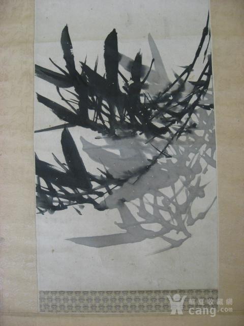 【清】台湾谢颖苏(谢�g樵)水墨立轴图4