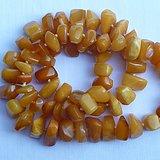 欧洲天然老蜜蜡随形珠项链92克