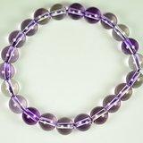 天然紫水晶碧玺手链