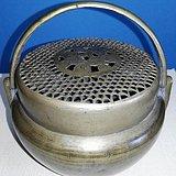 清代铜手暖炉