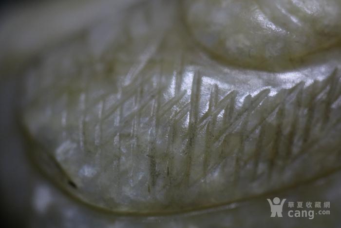 和田白玉籽料玉鸟图8