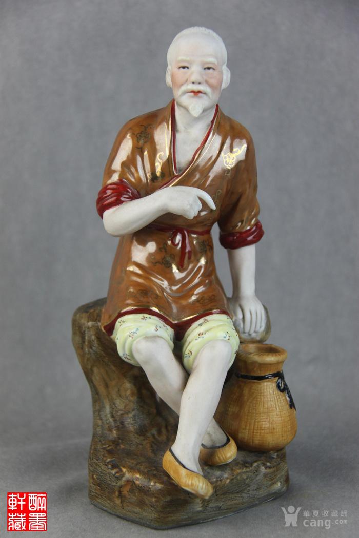 解放初精品瓷塑渔翁得利【醉墨轩】-图1