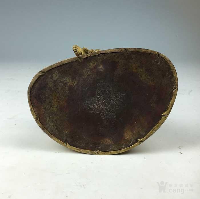 清代 铜鎏金黄财神像图9