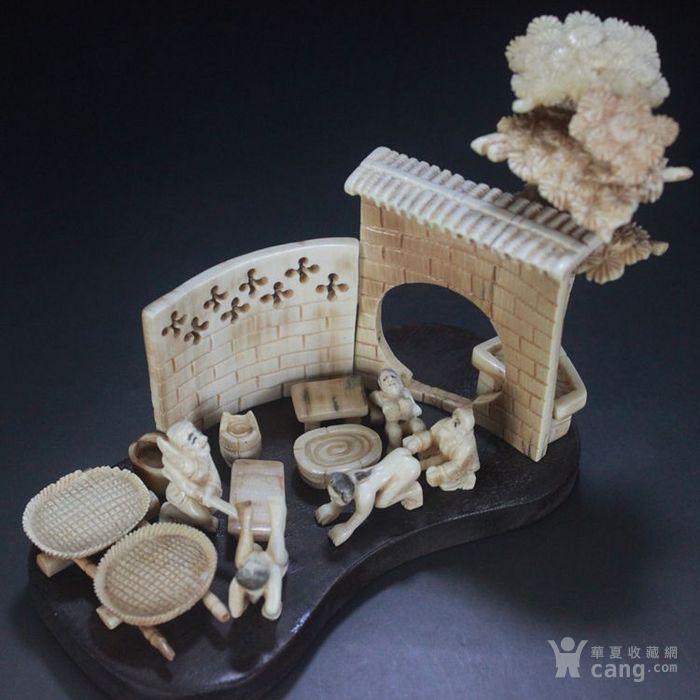 珍品收藏  微雕  春宫摆件  人物摆件  精美雕刻-图3
