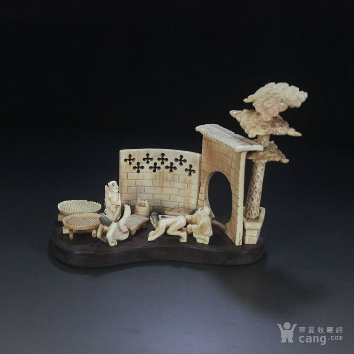 珍品收藏  微雕  春宫摆件  人物摆件  精美雕刻-图2
