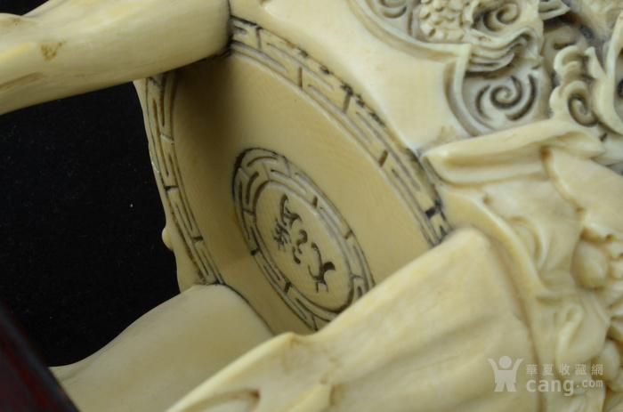 清 珍贵材质狮钮龙纹香炉图9