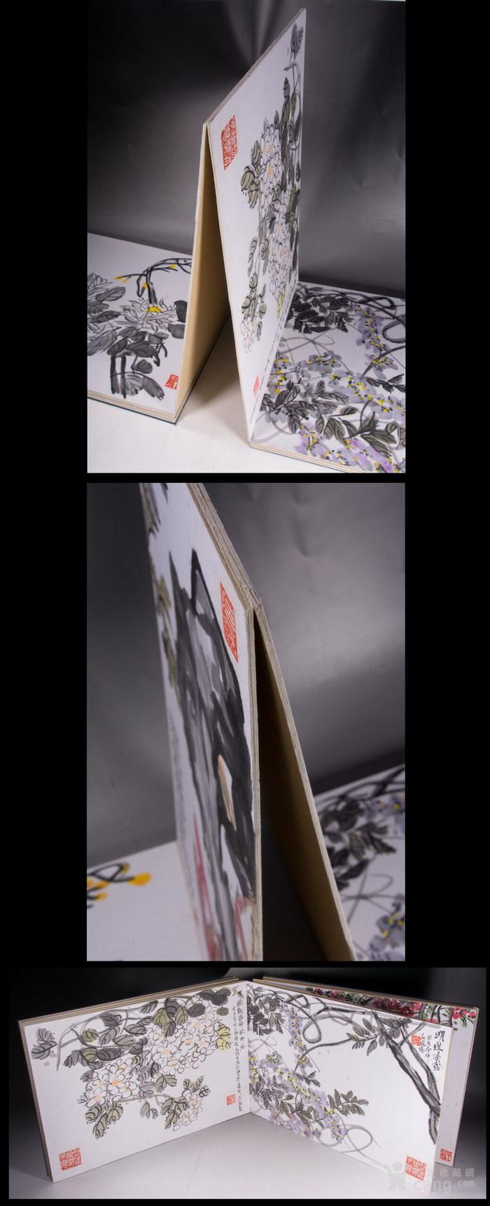 民国--吴昌硕之子--吴藏龛-《画树长春册》图9