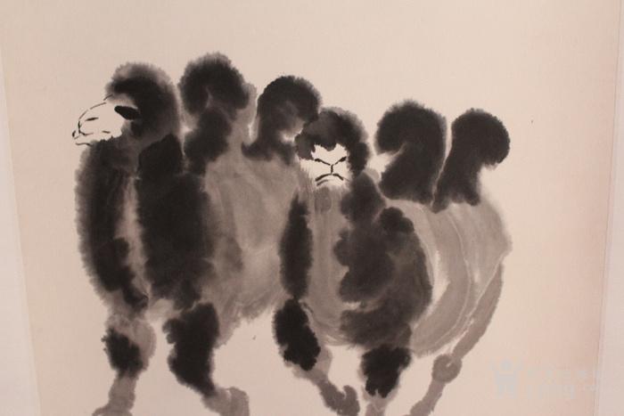 吴作人骆驼作品图2