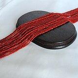 回流纯天然红珊瑚项链