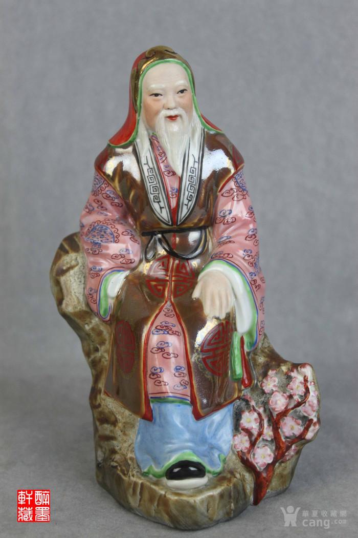 解放初精品瓷塑四君子之爱---林和靖爱梅【醉墨轩】-图1