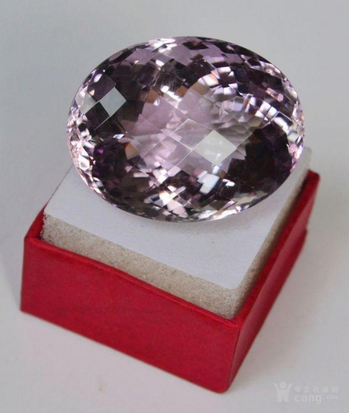 紫水晶 143.12克拉纯天然无加热巴西紫水晶图2