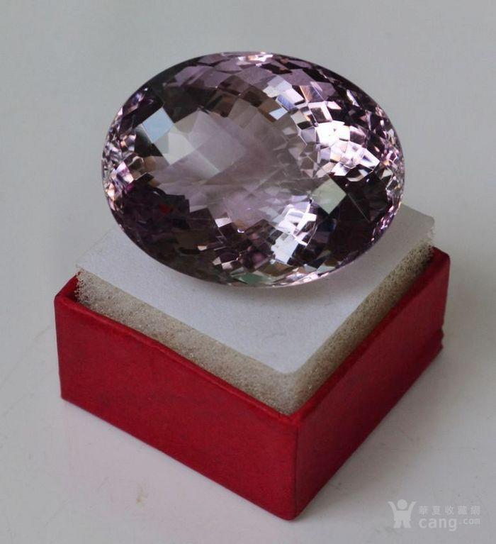 紫水晶 143.12克拉纯天然无加热巴西紫水晶图4
