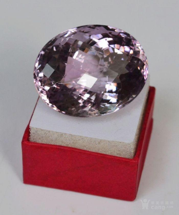 紫水晶 143.12克拉纯天然无加热巴西紫水晶图5