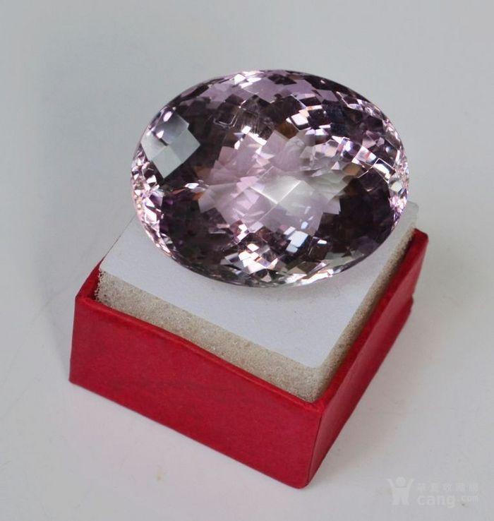 紫水晶 143.12克拉纯天然无加热巴西紫水晶图7