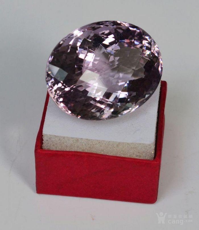 紫水晶 143.12克拉纯天然无加热巴西紫水晶图8