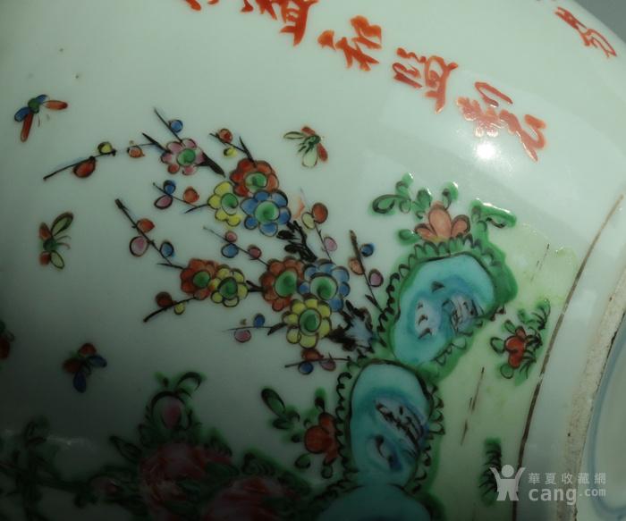 回流 少见  民国 美国华人贸易公司定制  松鹤 花鸟 大罐图7