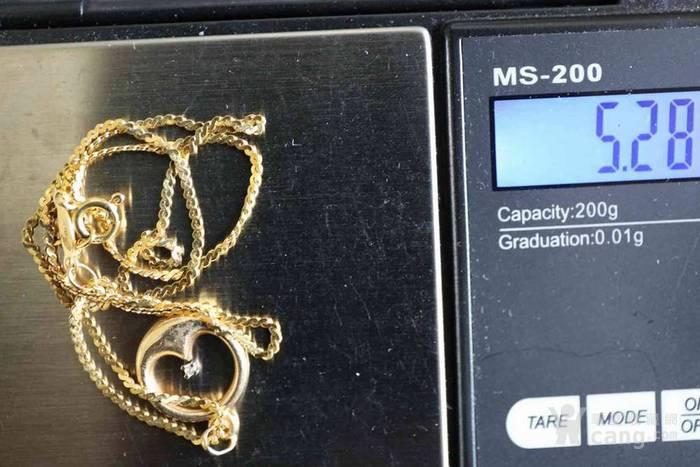 北美博艺堂 ▼ 欧洲标识750,18K黄金真钻项链图2
