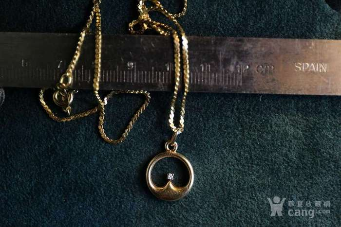 北美博艺堂 ▼ 欧洲标识750,18K黄金真钻项链图12