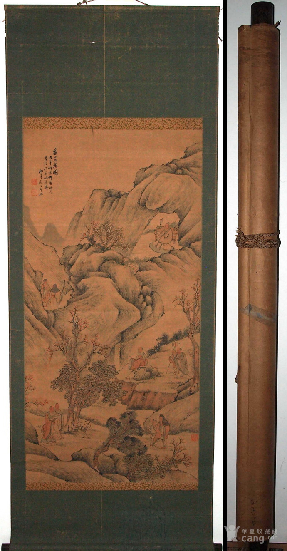 清代--包栋-《香山九老图》图1