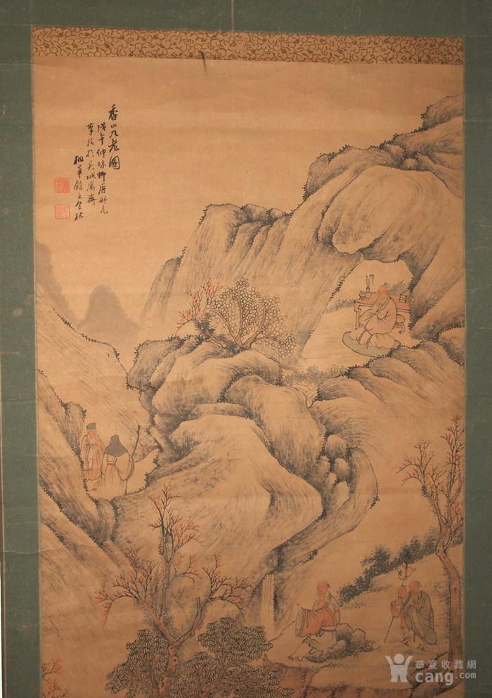 清代--包栋-《香山九老图》图2
