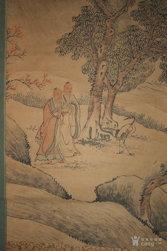 清代--包栋-《香山九老图》图7