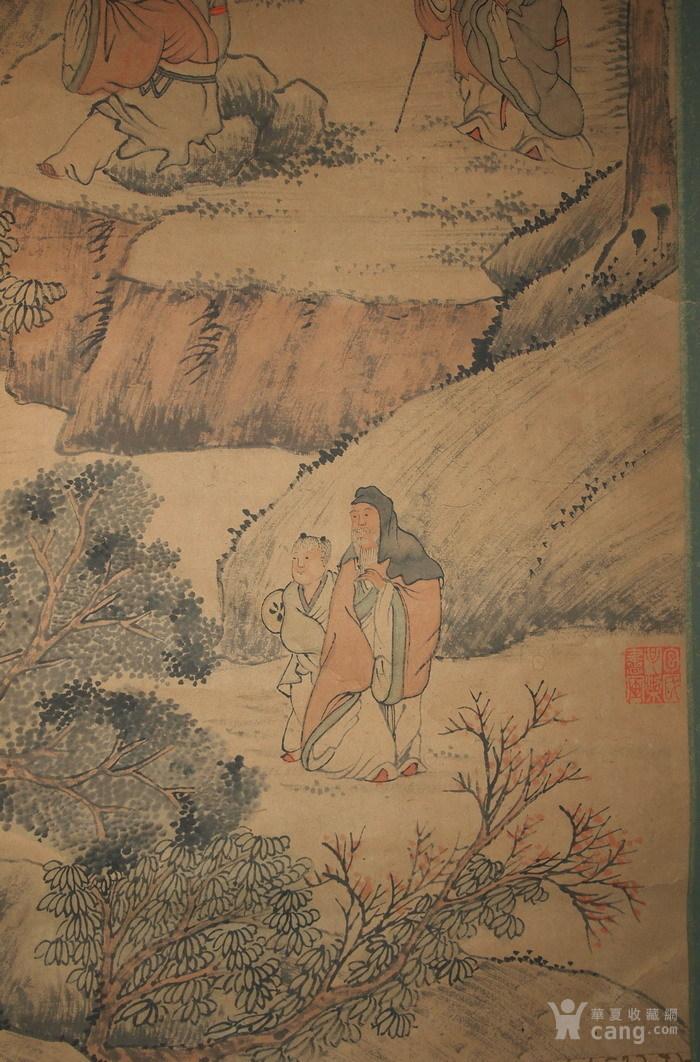 清代--包栋-《香山九老图》图8