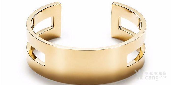 蒂芙尼手镯 世界名牌蒂芙尼真品18K金手镯 价格从优图5