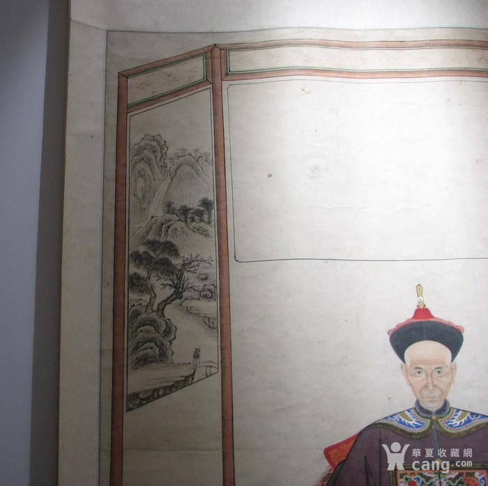 清代 大中堂祖宗画一副『聚古斋』图3