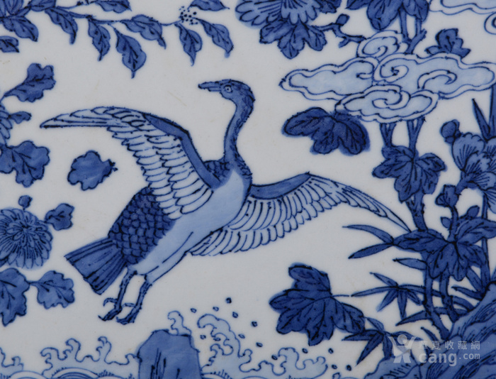 明嘉靖花鸟瓷板图3