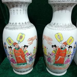 七十年代瓷厂花瓶