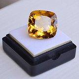 黄水晶 15.30克拉纯天然无加热巴西黄水晶 旺财石