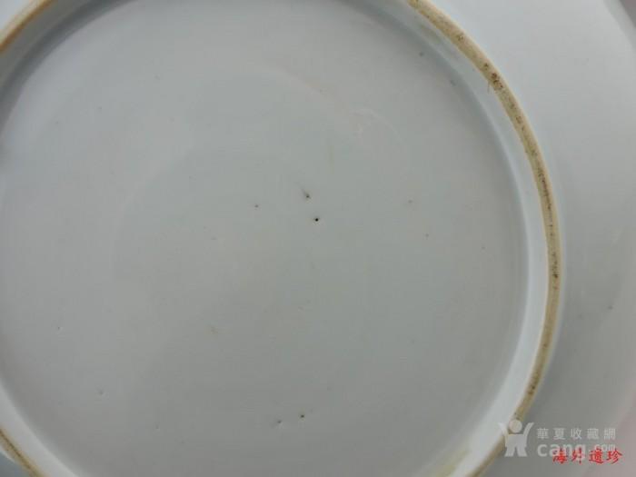 清 康熙 红绿彩 瑞兽纹 大盘图10