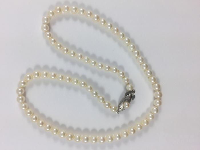 (美国回流兴业坊)天然日本【海水】珍珠项链纯银扣(国内现货)图7