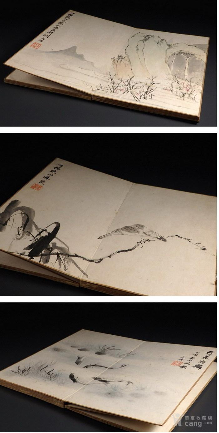 清代--《潘恭寿王文治》册页图6