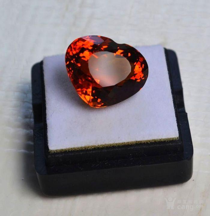 黄水晶 11.55克拉纯天然无加热巴西黄水晶 旺财石图2