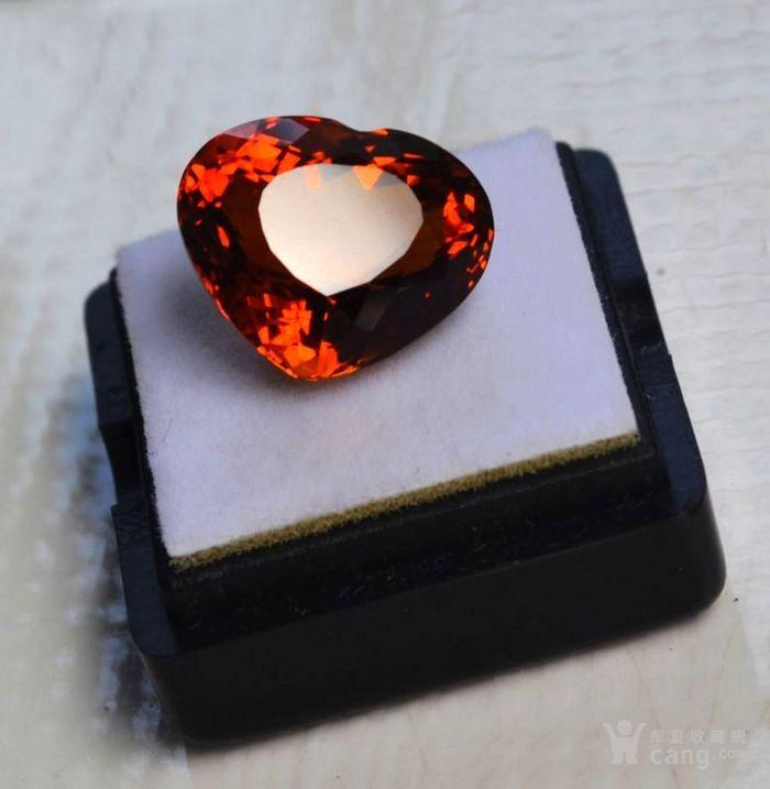 黄水晶 11.55克拉纯天然无加热巴西黄水晶 旺财石图1