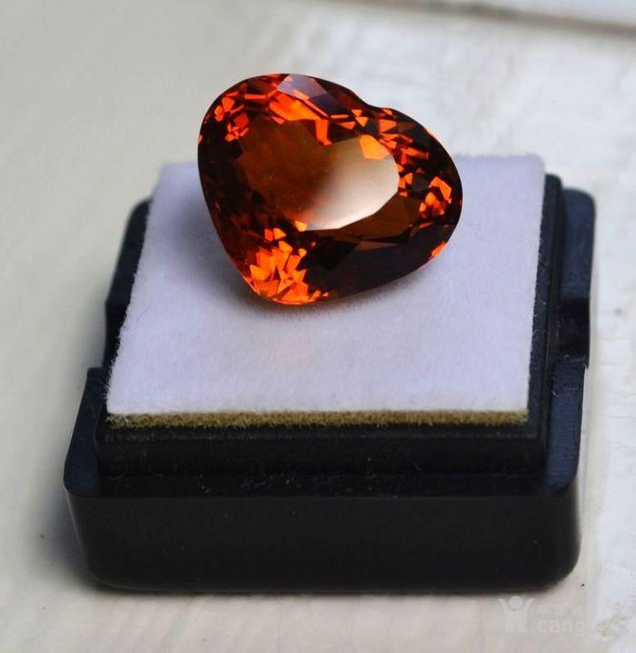 黄水晶 11.55克拉纯天然无加热巴西黄水晶 旺财石图3