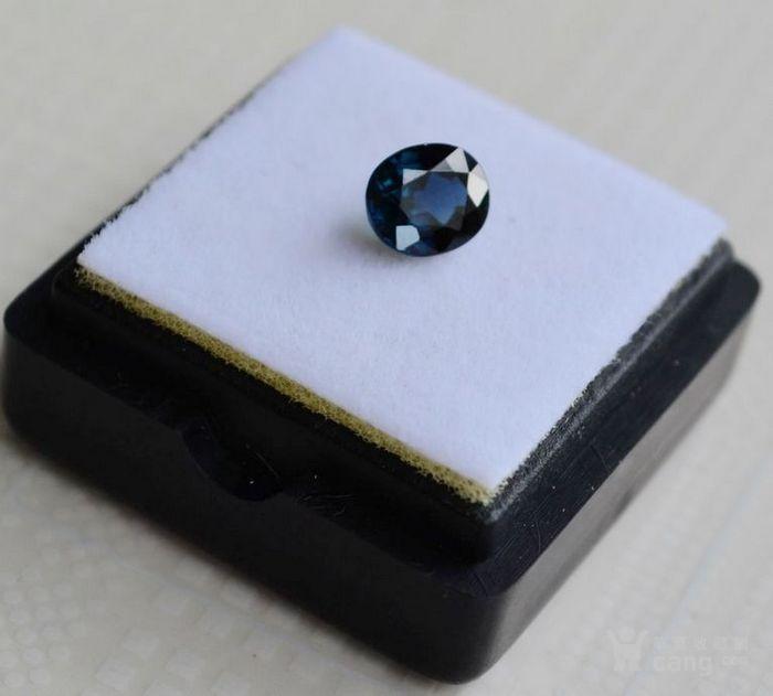 蓝宝石 斯里兰卡纯天然椭圆型1.24克拉蓝宝石图2