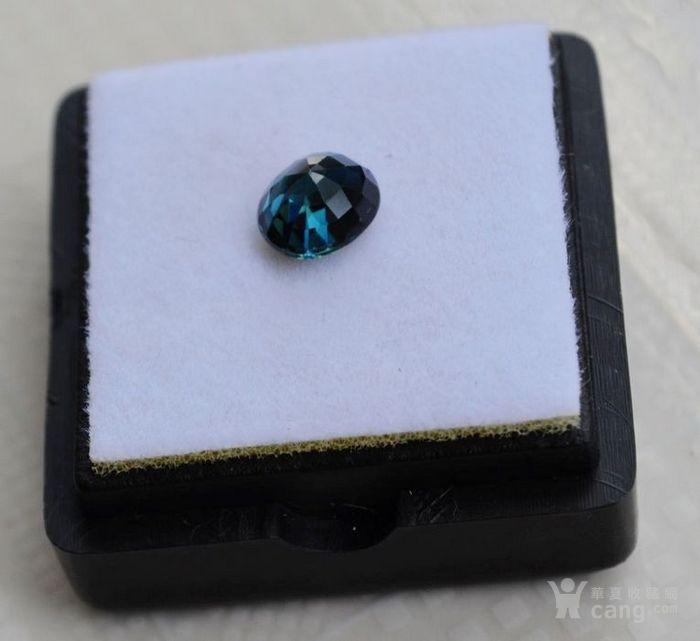 蓝宝石 斯里兰卡纯天然椭圆型1.24克拉蓝宝石图4