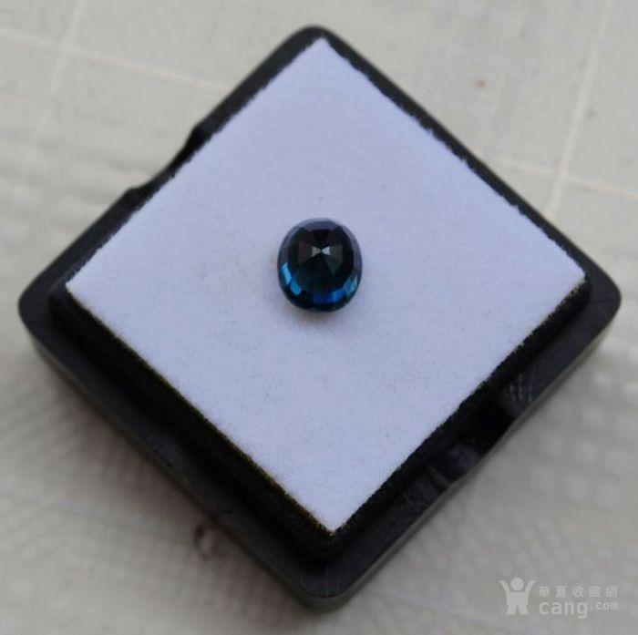 蓝宝石 斯里兰卡纯天然椭圆型1.24克拉蓝宝石图5