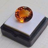黄水晶 9.36克拉纯天然无加热巴西黄水晶 旺财石