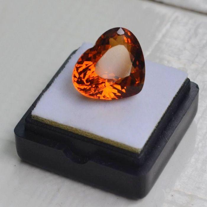 黄水晶 11.06克拉纯天然无加热巴西黄水晶 旺财石图2