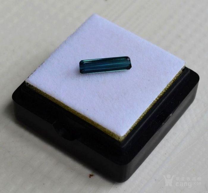 蓝碧玺 莫桑比克纯天然蓝碧玺0.76克拉图3