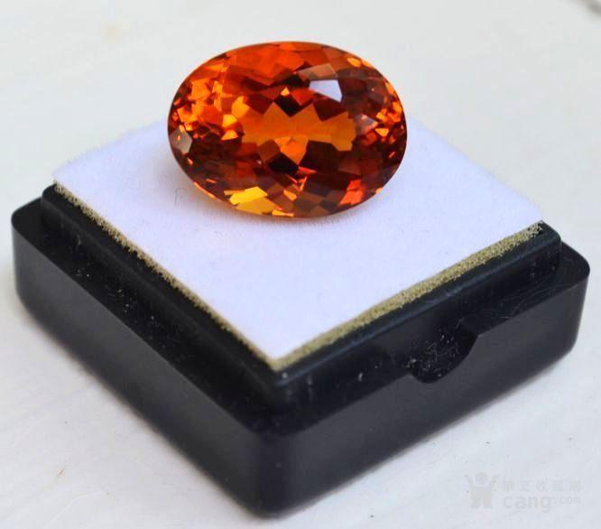 黄水晶 10.52克拉纯天然无加热巴西黄水晶 旺财石图1